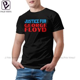 graphic tee shirts for men Australia - I Can't Breathe T Shirt JUSTICE FOR GEORGE FLOYD T-Shirt Man Cute Tee Shirt Graphic Cotton Short Sleeve Tshirt