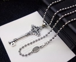 Key pendants for men online shopping - Fashion brand CH key designer necklace for lady Design man and Women Party Wedding Lovers gift Luxury Hip hop Jewelry