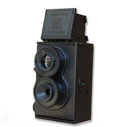 $enCountryForm.capitalKeyWord UK - Fashion Black DIY Twin Lens Reflex TLR 35mm Lomo Film Camera Kit Classic Play Hobby Photo Toy Gift