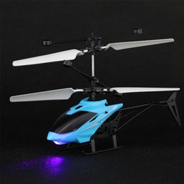 wholesale toys helicopter Australia - USB Data Line Charging Suspension Sensor Children's Toys LED Color Lamp Remote Controllable Aircraft Helicopter