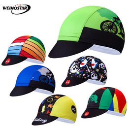 team helmets Canada - Weimostar Multicolor Cycling Cap Sports Breathable Bike Helmet Hat bandana men Summer Team Bicycle Caps Sun UV Cycling Headband