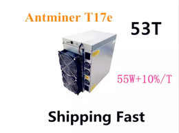 Antminer T17 50T BCH Miner AntMiner T17e 53TH S With PSU Better Than S9 S9j S15 T17 S17 S17 Pro WhatsMiner M3 M21S M20S Innosilicon T2T Ebit on Sale
