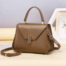 $enCountryForm.capitalKeyWord Australia - Elegant2019 Bag Kylie Woman Package Genuine Leather Hand Rub Grain Single Shoulder Satchel Handbag
