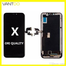 cell phone digitizer iphone Australia - 100% OEM ORIGINAL Lcd Display With Touch Screen Digitizer Full Assembly Cell phone repair Parts For iphone X XR XS MAX