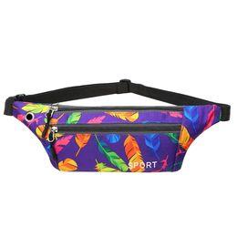 $enCountryForm.capitalKeyWord Australia - Women Waist bag waterproof Canvas High Quality Belt Bags Fanny Pack girls Sling Bags Fashion Mobile Phone Pouch sports bag 6J20