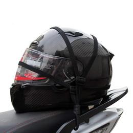 Helmet Hook online shopping - 1PCS cm Outdoor Cycling Helmet Hook Rope Luggage Elastic Rope Helmet net Storage mesh Bicycle Accessories