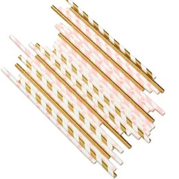 $enCountryForm.capitalKeyWord Australia - 50pcs Bar Accessories Drinking Straw Collapsible Reusable Straw Outdoor Household Kitchen Party Birthday DIY Photo Props Decor