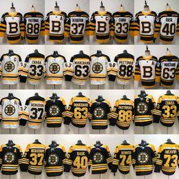6fead70c62d 37 Patrice Bergeron 2019 Boston Bruins 33 Zdeno Chara 73 Charlie McAvoy 47  Torey Krug 88 David Pastrnak 63 Brad Marchand 4 Bobby Orr Jersey