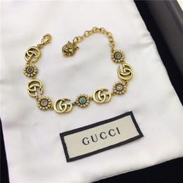 Европейский и американский мода письмо браслет женский высокого класса роскошные женские аксессуары браслет на Распродаже