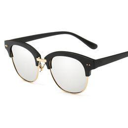 $enCountryForm.capitalKeyWord Australia - Glasses Half Frame Women Men's Shades Glasses Models Classic Eyewear Glasses Glass For Men Famous Sunglasses Women Glases Oculos