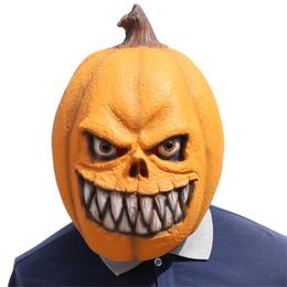$enCountryForm.capitalKeyWord UK - NEW Pumpkin head Latex Masks Movie Cosplay Adult Animal Party Mask kitty Realistic Masquerade Prop Fancy Dress Party Halloween Mask