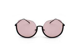 $enCountryForm.capitalKeyWord Australia - Big Frame Trend Sunglasses Semi Rimless Metal Versatile Sunglasses Men And Women Marine Film Round Hanging Wire Sunglasses
