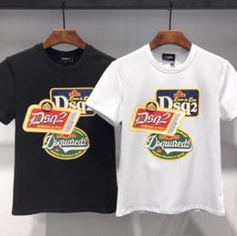 Duck t shirts online shopping - Brands new Hip Hop DS2 mens t shirt Short Sleeve Cotton tops tee poloshirt shirt men teel hip g Designers men women t shirts DT399