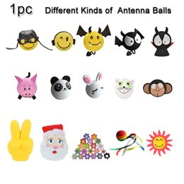 aerial for cars Australia - 1pc Cute Antenna Balls EVA Aerial Car Topper Decor Ball as Gifts For Cars Trucks SUV Anmials Polit Devil Flowers Lovely
