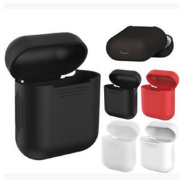 Great Shoe UK - Great Case For Apple Airpods Air Pods Silicone storage box Protective case Pouch Anti Lost Protector