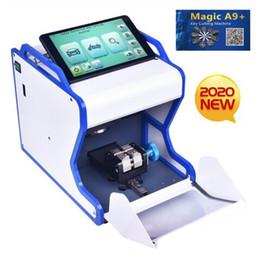New 2020 Neueste automatische magische A9 + Key Schneidemaschine besser als MIRACLE A7 voll automatische elektronische Drei Axt im Angebot