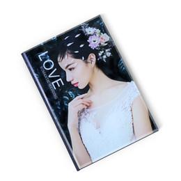 Creativo DIY Cristal Álbum Matrimonio Escribir Galería de fotos Galería de fotos Vestido de novia Álbum Hacer regalos de cumpleaños