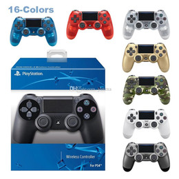 Sony Ps4 Games Australia - PS3 PS4 Wireless Controller For Sony PlayStation 3 PlayStation 4 Game System Gaming Controllers Game Joystick