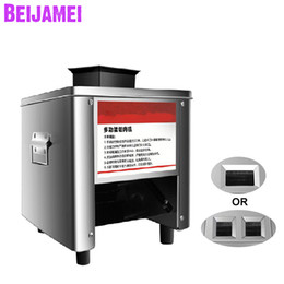 $enCountryForm.capitalKeyWord Australia - BEIJAMEI New Electric Meat Slicer Cutter Commercial Home Meat Slicing Machine Automatic Meat Cutting Mincing 150 KG H