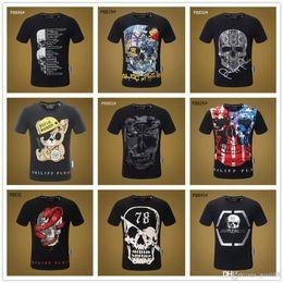 Paintings Name Australia - 2019 Mix 22 model Name Brand Fashion Men's Tee T shirt O-Neck Regular sleeve The Legend of Zombie Camisetas Skull Kid Paint custom tshi