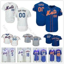 Custom New York Mets  30 Michael Conforto 31 Mike Piazza 34 Noah Syndergaard  Nolan Ryan Men Women Kids Youth Baseball Jerseys 88ed5e0e7