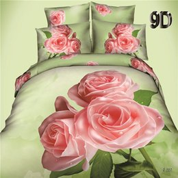 $enCountryForm.capitalKeyWord Australia - 3D Bedding Set Hot Sales Home Textiles New Style Flowers Animals Bedclothes King Queen Size Duvet Cover Bed Sheet Pillowcase.