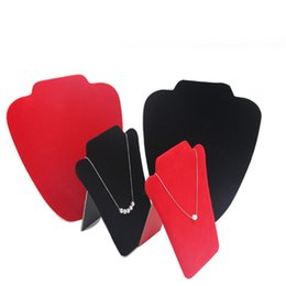 China Free shipping jewelry display props, human neck display stand, flat portrait necklace display props supplier jewelry display necks suppliers