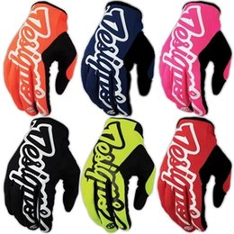 Bicycle Roads Australia - Wholesale Cycling Gloves GEL Bicycle Racing TLD MTB Cycling Sports Warm Glove Breathable MTB Road Gem Exercise Full Finger Guantes Gloves