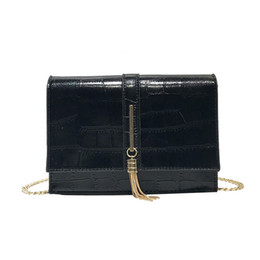 $enCountryForm.capitalKeyWord UK - Lucky2019 Bag Fire Exceed Woman Tassels Chain Single Shoulder Messenger All-match Small Square Package