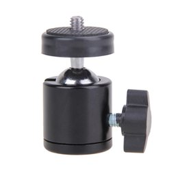 "mini ball head for camera NZ - Cheap Heads Mini Ball Head of 360 Swivel DSLR Camera Dsr +1 4""Screw Mount Stand Mini BallHead for camera"