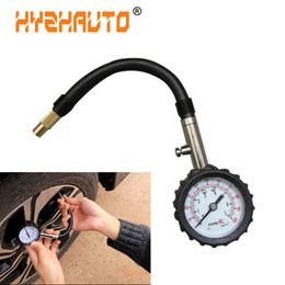 auto meter tire gauge Australia - 1Pcs Auto Car Truck Bike Motorcycle Tyre Air Pressure Gauge Meter Tire Pressure Gauge 0-100 Psi Vehicle Air Tester