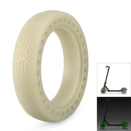 $enCountryForm.capitalKeyWord Australia - Luminous Solid Tire Explosion-proof Front Rear Tyre Outer Tire Inflatable Tyre for Xiaomi M365 Electric Scooter Replacement Tube