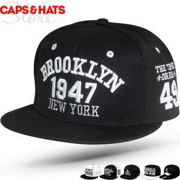 $enCountryForm.capitalKeyWord Australia - 2019 summer outdoor flat brooklyn 1947 Baseball cap Bone NY Hip Hop Snapback Streetwear Fahion Hat