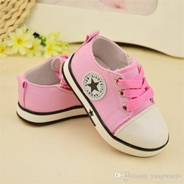$enCountryForm.capitalKeyWord Australia - 2019 New Breathable Canvas Shoes 1-3 Years Old Boys Shoes 4 Color Comfortable Girls Baby Sneakers Kids Toddler Shoes