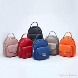 $enCountryForm.capitalKeyWord Australia - New ladies shoulders women's fashion design mini Korean version of the multi-function backpack adjustable wallet bag female trend shipping