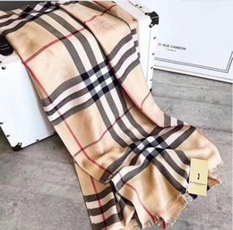 Discount branded scarfs - High quality Brand Long Scarf size 180x70cm Women 2018 autumn Scarf Warm cotton Scarves Plaid Shawls