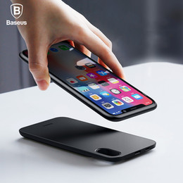 $enCountryForm.capitalKeyWord Australia - 5000mAh QI Wireless Charger Case For iPhone X External Battery Backup Wireless Charging Power Bank For Samsung S9 Huawei