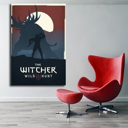 $enCountryForm.capitalKeyWord Australia - The Witcher 3 Wild Hunt by Maif Anime Canvas Modern Painting Oil Print Comic Poster Wall Art HD Picture For Living Room Home Decor