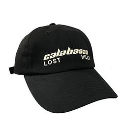SportS logoS free online shopping - 18SS CALABASAS SEASON Logo Embroidery Hat Cap Kanye Fashion Street Travel Sunhat Fishing Casual Sun Hat Outdoor Sports Hats HFYMMZ013