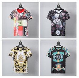 Wholesale 2019 Spring Summer Fashion Polo Mens printed Brand T shirt Embroidered Tiger Wolf Short sleeved T shirt Men s Youth T shirt17
