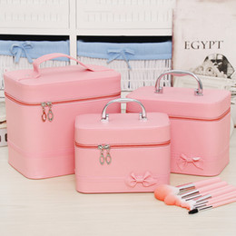 $enCountryForm.capitalKeyWord Australia - Professional Cosmetic Bag Portable Large Capacity Manicure Beauty Storage Box Cosmetic Case Waterproof Lovely The New Makeup Bag Y190702