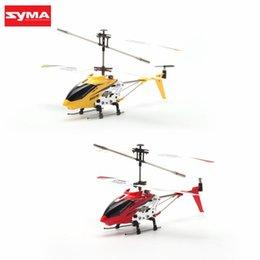 $enCountryForm.capitalKeyWord UK - Original Syma S107H Gyro Metal 2.4G Radio 3.5H Mini Helicopter RC Remote Control Altitude Hold Drone for Toy Gift Present RTF
