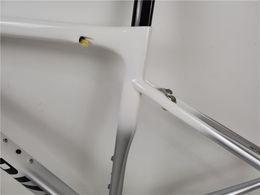 Wholesale 2020 NEW sl6 gray white black logo carbon road bike frame BB30   PF30   BSA V brake disc brake carbon frame 49 52 54 56   58mm