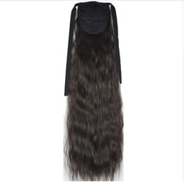 "$enCountryForm.capitalKeyWord UK - Heat Resistant B5 Synthetic Hair Fiber 22"" 55cm Kinky Straight Ribbon Ponytail Hair Extension 40 Colors Available"