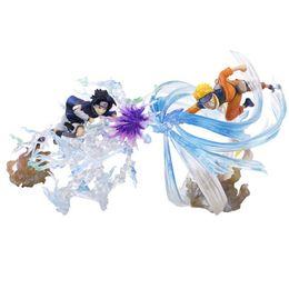 $enCountryForm.capitalKeyWord Australia - Uzumaki VS Sasuke Naruto Japanese Anime Figure Action & Toy Figures Pvc Model Collection Girls Kids Lover Children figurine