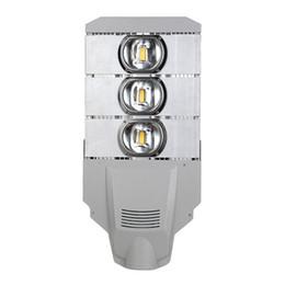 Metal Lighting Fittings Australia - metal halide retrofit led street light pole 50W 100W 150W 200W slip fitter weatherproof shoebox area lighting for outdoor parking lots