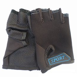 $enCountryForm.capitalKeyWord Australia - Kids Gloves Children Bike Bicycle Cycling Fingerless One size for Cycling Climbing Skating