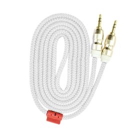 $enCountryForm.capitalKeyWord Australia - Male to Male 3.5mm Auxiliary AUX Extension Audio Cable Stereo Aux cord 1.5M 5FT Cloth cable 5Colors