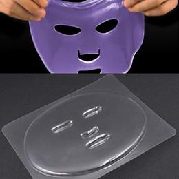Piastra maschera facciale per maschere di frutta verdura Macchina per caffè trasparente Maschera di silicone Maschera per vassoio Stampo Utensile fai da te VVA422 in Offerta