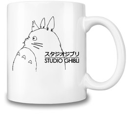 $enCountryForm.capitalKeyWord NZ - Themed Coffee Mug Totoro Hot & Cold Beverages Cup Top Quality Ceramic - 11 oz.   325 ml A Must for Anime Fan